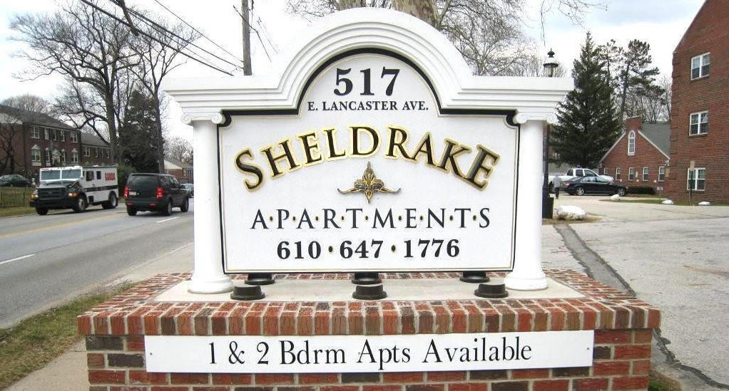 sheldrake apartments pvc hdu custom built monument sign classic signs nc 1022x549
