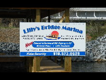 lillies bridge vinyl sign from classic signs nc 220x165