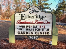 etheridge landscaope sandblasted hdu changeable copy woodgrain hdu classic signs nc 220x165