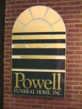 powell  funeral home sandblasted hdu swirled goldleaf sign from classic signs nc 161x214