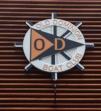 old dominion boat club routed hdu multi level club sign 1crop classic signs nc200x220