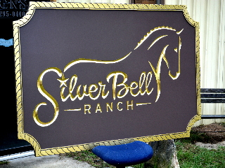 silverbell v grove routed hdu ranch sign 23kt gold leaf signblasters com 320x240