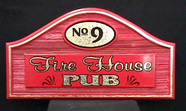 firehouse pub cast molded hdu signblank vinyl graphics classic signs nc 630x376
