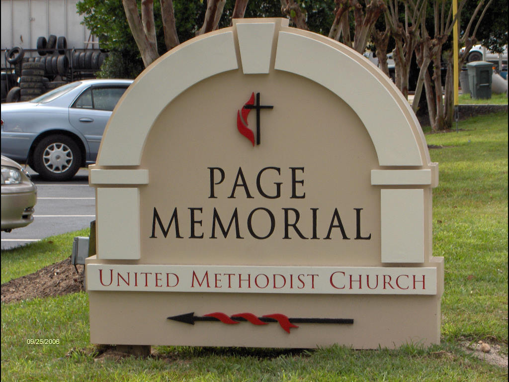 church sign page memorial hdu monument and lettering from classic signs nc 1024x768