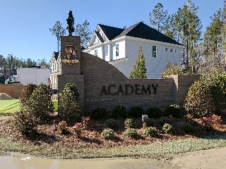 academy community subdivision entrance signs classic signs nc320x240