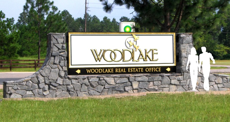 woodlake 23kt goldleaf appliqued letters sign classic signs nc 800x426