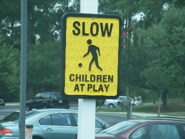 slow children sandblasted sign classic sings nc 290x000