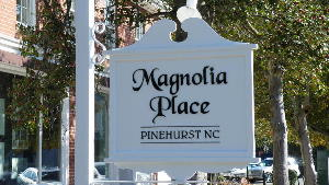 magnolia custom pvc sign to emulate original wood sign custom acrylic letters classic signs nc 300x169