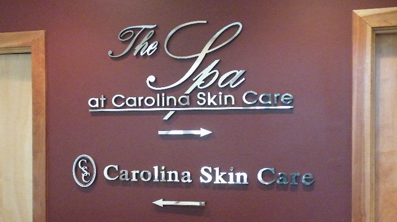 skin care custom cut mirror finish letters from classic signs nc800x600
