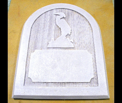 heron unpainted house sign cast polyester classic signs nc 426x360