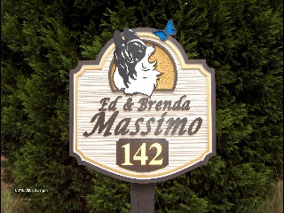 massimo custom sandblasted papillon house home sign classic signs nc 320x240