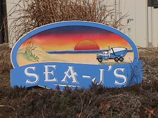 sea js sandblasted beach huse sign from classic signs nc