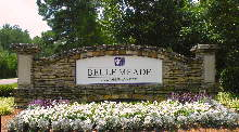 belle meade main sign sandblasted hdu classic signs nc 220x180ish