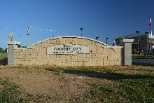 calvert city 23 capstone installation finished 1 classic signs nc 220x180ish