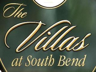 villas at vir apartment sign appiqued prismatic letters on hdu background with gold leaf zoom from classic signs nc 320x240