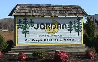 jordan clear all heart redwood sandblasted sign from classic signs nc 561x354