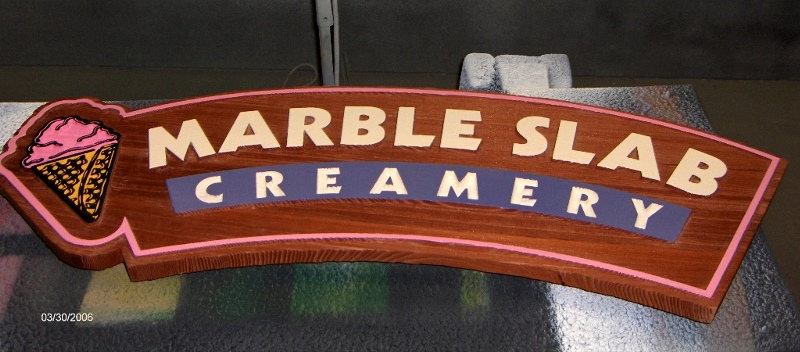marble slab all heart vertical grain sandblasted redwood classic signs nc 800x352