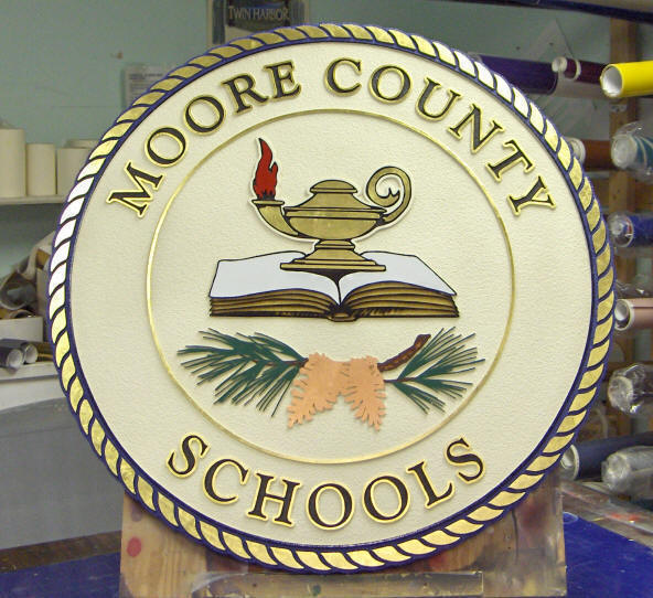 moore county schools seal sandblasted hdu classic signs nc 592x542