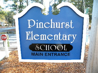 old style school sign remade in pvc classic signs nc 320x240