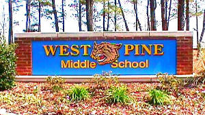 west pine sandblasted cat routed hdu letters from classic signs nc 300x169