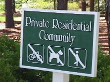 private residential community sandblasted sign classic signs nc 220x180ish